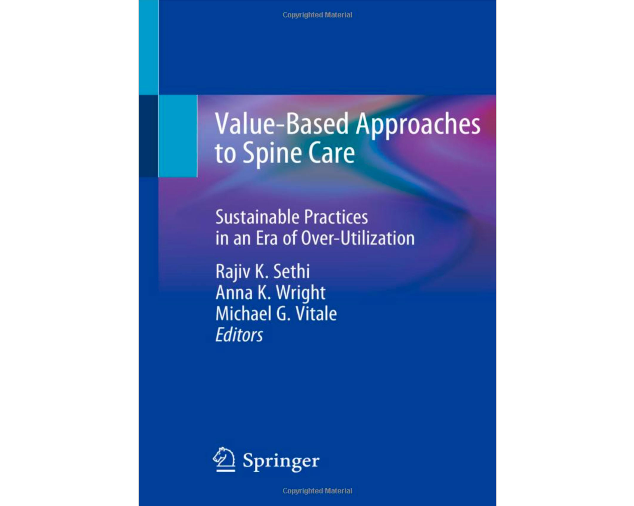 Value-Based Approaches to Spine Care-book-cover