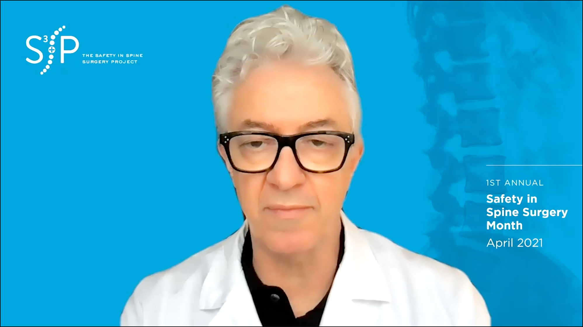 Safety in Spine Surgery Month - Balsano - Spine Surgery Safety Tips Video