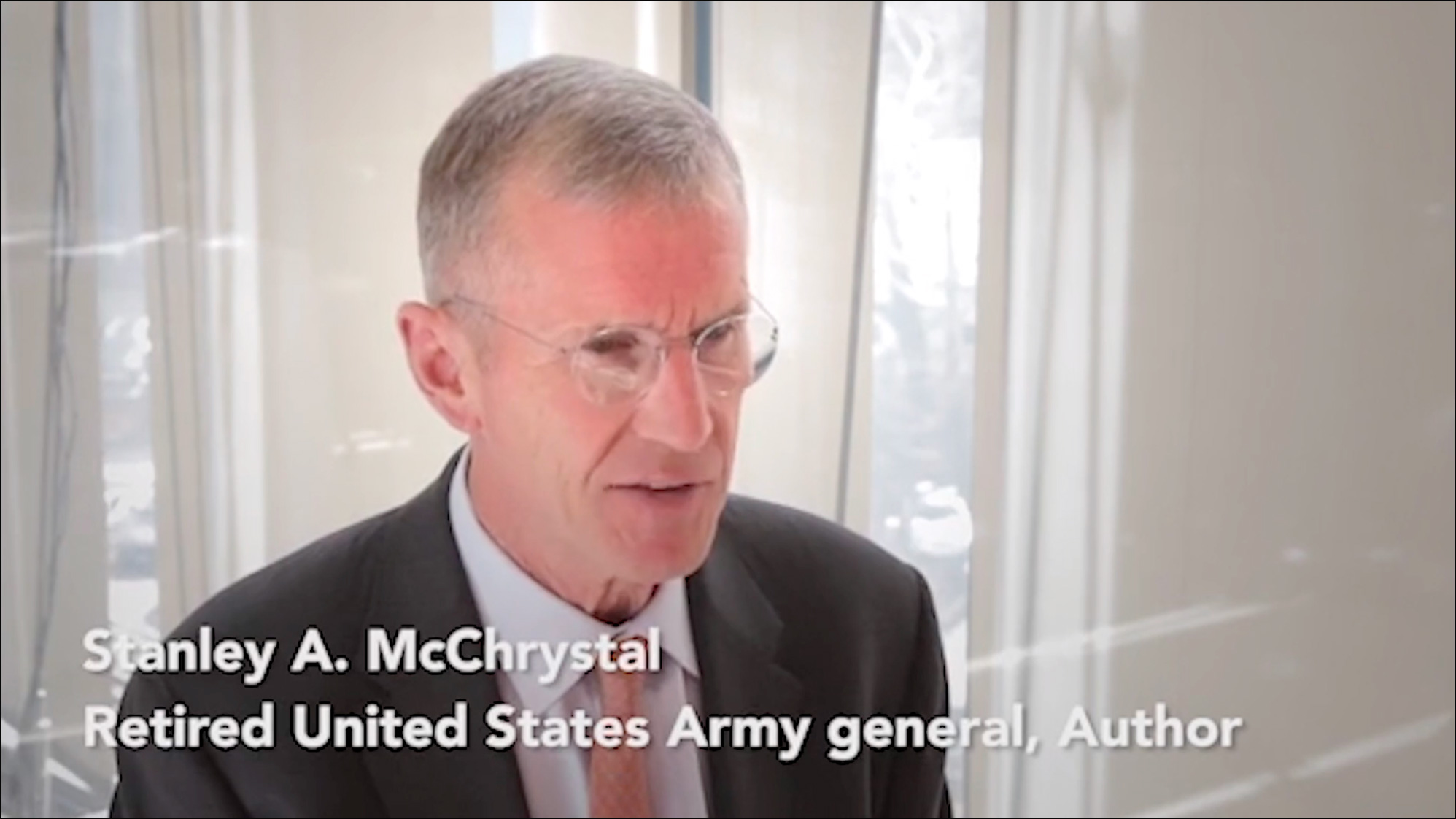 Gen. Stanely McChrystal, keynote Lecturer at the 2018 Safety in Spine Surgery Summit, sharing his thoughts on how teams impact spine surgery safety.